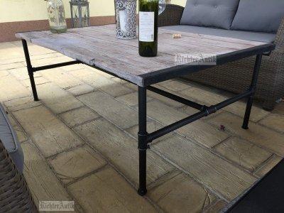Industrial Ipari bútor, dohányzó asztal 01.
