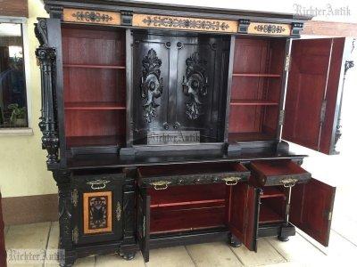 Antik bútor, Barokk nagy tálaló 02.