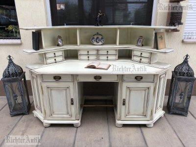 Provence bútor, antikolt író asztal.