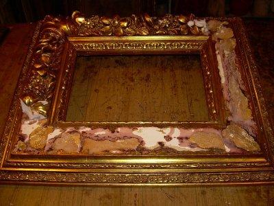 Kép keret felújítás, restaurálás