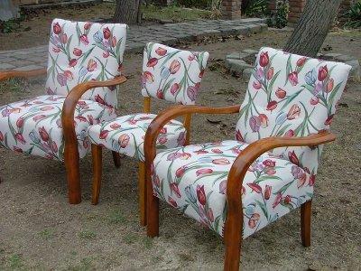 Rumba és Hawai fotelek kárpitozása