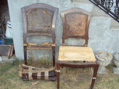 Romos székek kárpitozása, felújítása