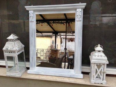 Provence bútor, antikolt tükör 35.