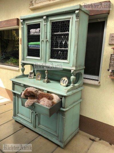 Provence bútor, antikolt tálaló szekrény 07.