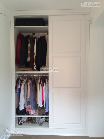 Ónémet előszoba szekrények, gardrób rendszerek, beépített szekrények.