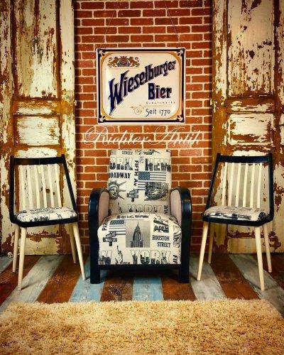 Loft, Art Deco ülő garnitúra.