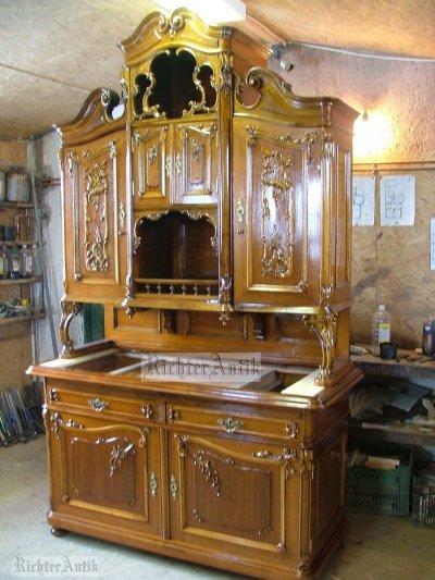 Szekrények felújítása, restaurálása