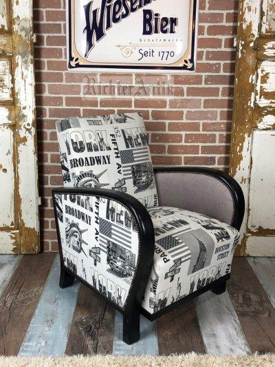 Loft, Art Deco fotel.