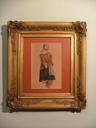 Böhm Pál festmény