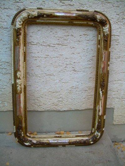Lap aranyozás, tükör restaurálás.