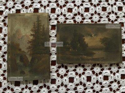 Festmény és keret restaurálás.