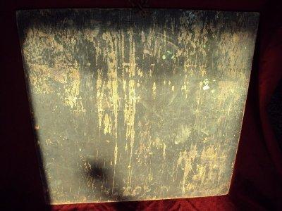 Antik Tanka (fára festett) 1.