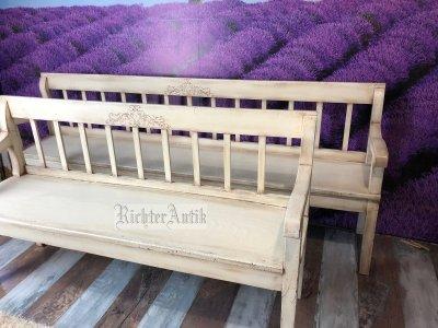 Vintage, Provence bútor, antikolt pad, lóca.