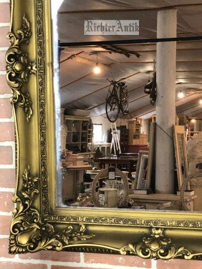 Aranyozott restaurált tükör 06.