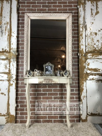 Vintage antikolt nagyméretű tükör.